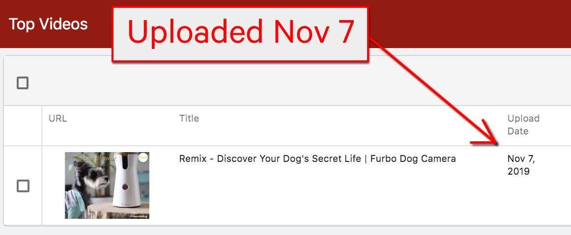 youtube ad spy tool screenshot furbo dog camera